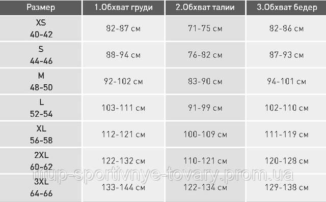 размеры мужской одежды adidas