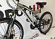 """Подростковый велосипед CROSSRIDE NITRO 24""""  Серый, фото 3"""