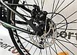 """Подростковый велосипед CROSSRIDE NITRO 24""""  Серый, фото 10"""