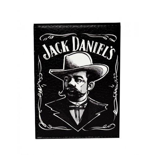 Обложка для паспорта мужская Jack Daniels