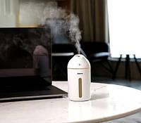 Увлажнитель воздуха 320 мл ультразвуковой Baseus Cute Mini Humidifier Белый