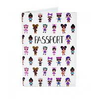Необычная обложка для паспорта Lol