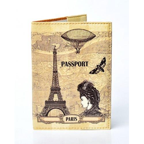 """Оригинальная обложка для паспорта """"Paris"""""""