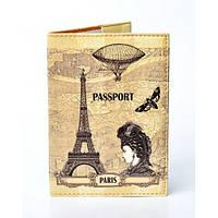 """Оригинальная обложка для паспорта """"Paris"""", фото 1"""