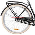 Городской велосипед Dorozhnik Coral PH 28 дюймов черный, фото 6