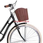 Городской велосипед Dorozhnik Coral PH 28 дюймов черный, фото 2