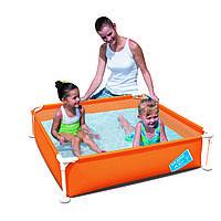 56217 BW Детский каркасный бассейн 122х122х30,5 см, 365л