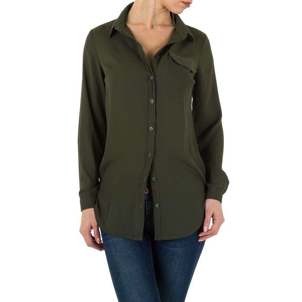 Женская рубашка от Milas, KL-L0020-02-хаки
