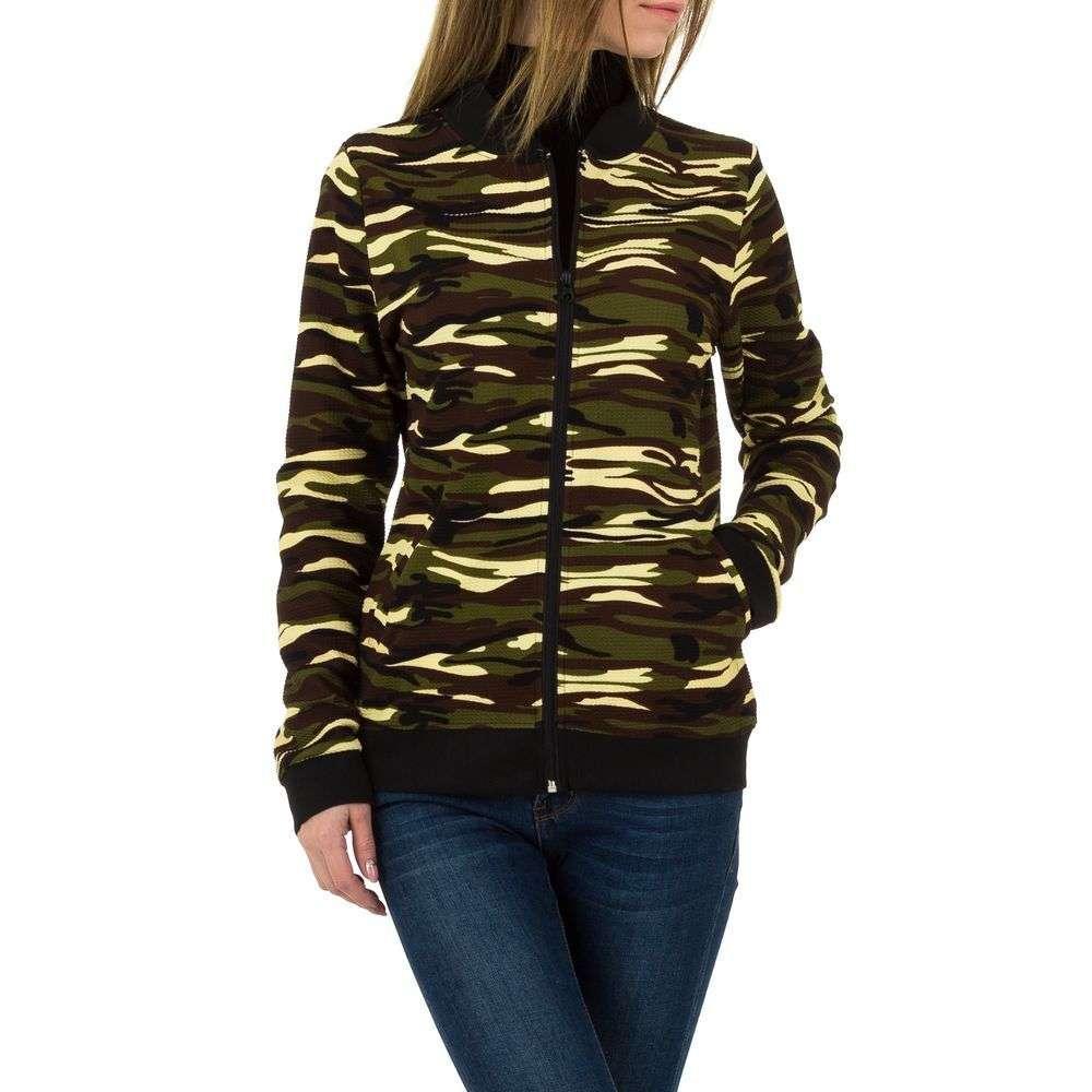 Женская спортивная куртка от проиводителя Holala (Европа), размер One Size - Army Green - KL BF-102-1-Army Green