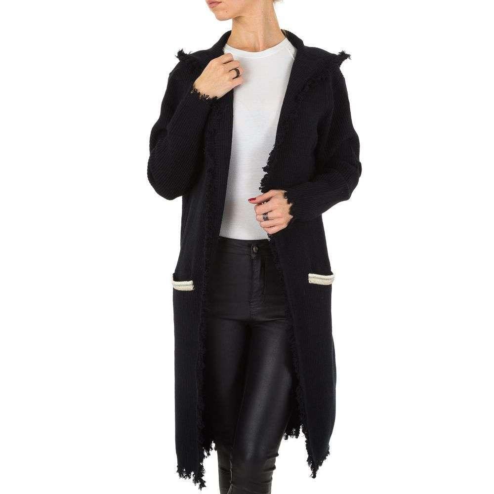 Женский кардиган длинный от Voyelles (Италия), размер one size, Черный