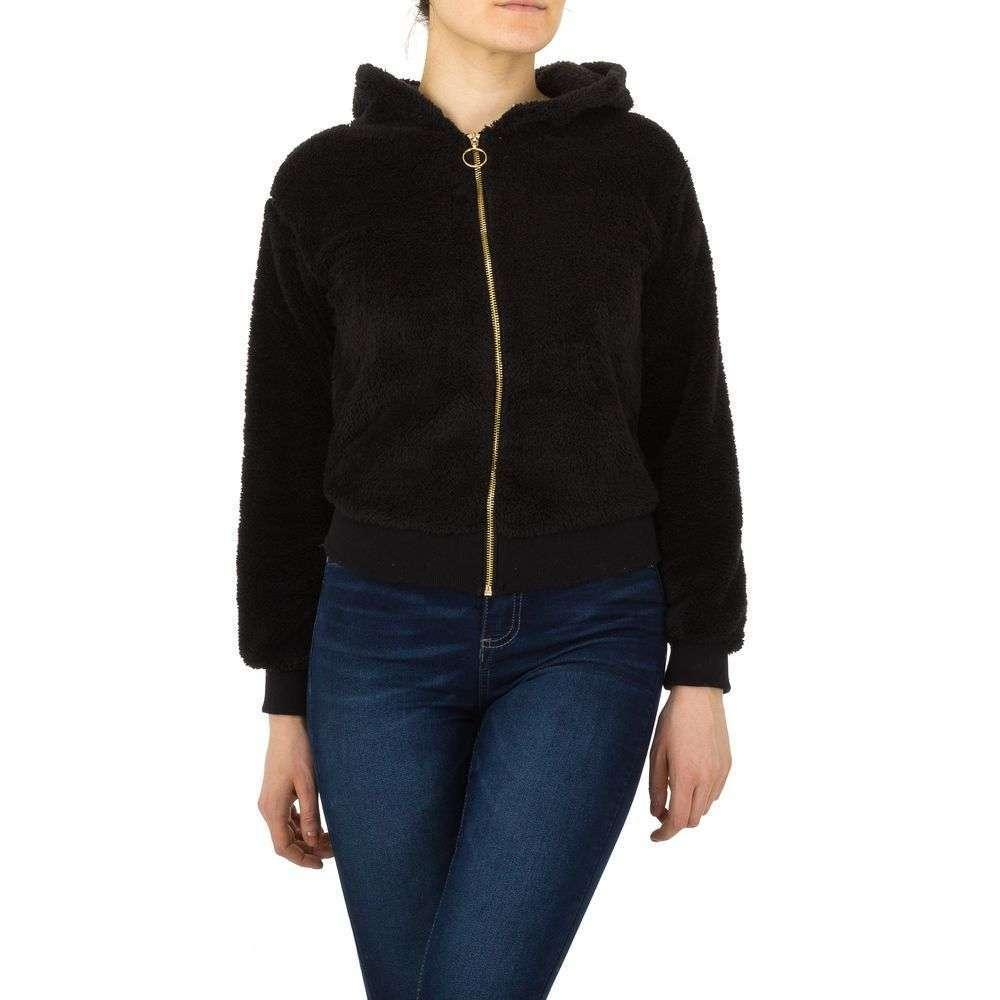 Женская спортивная куртка от Voyelles - black - KL-TS-863-черный