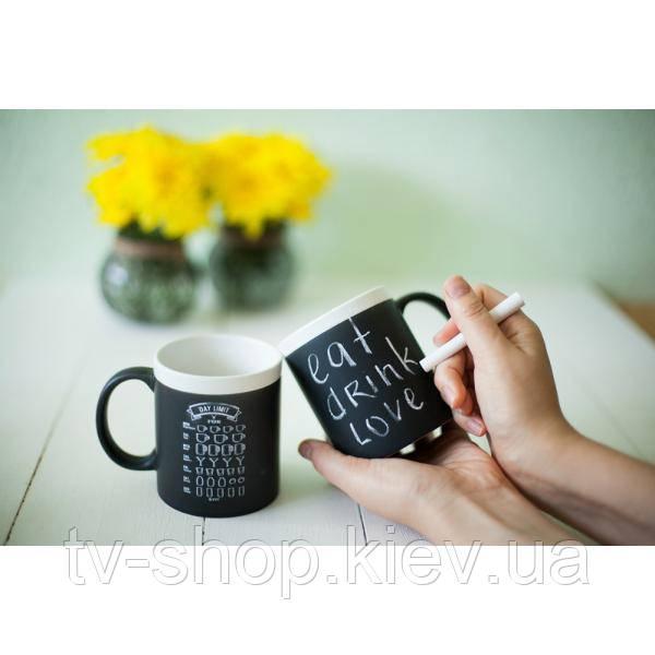 Чашка органайзер Memoboard + мелок