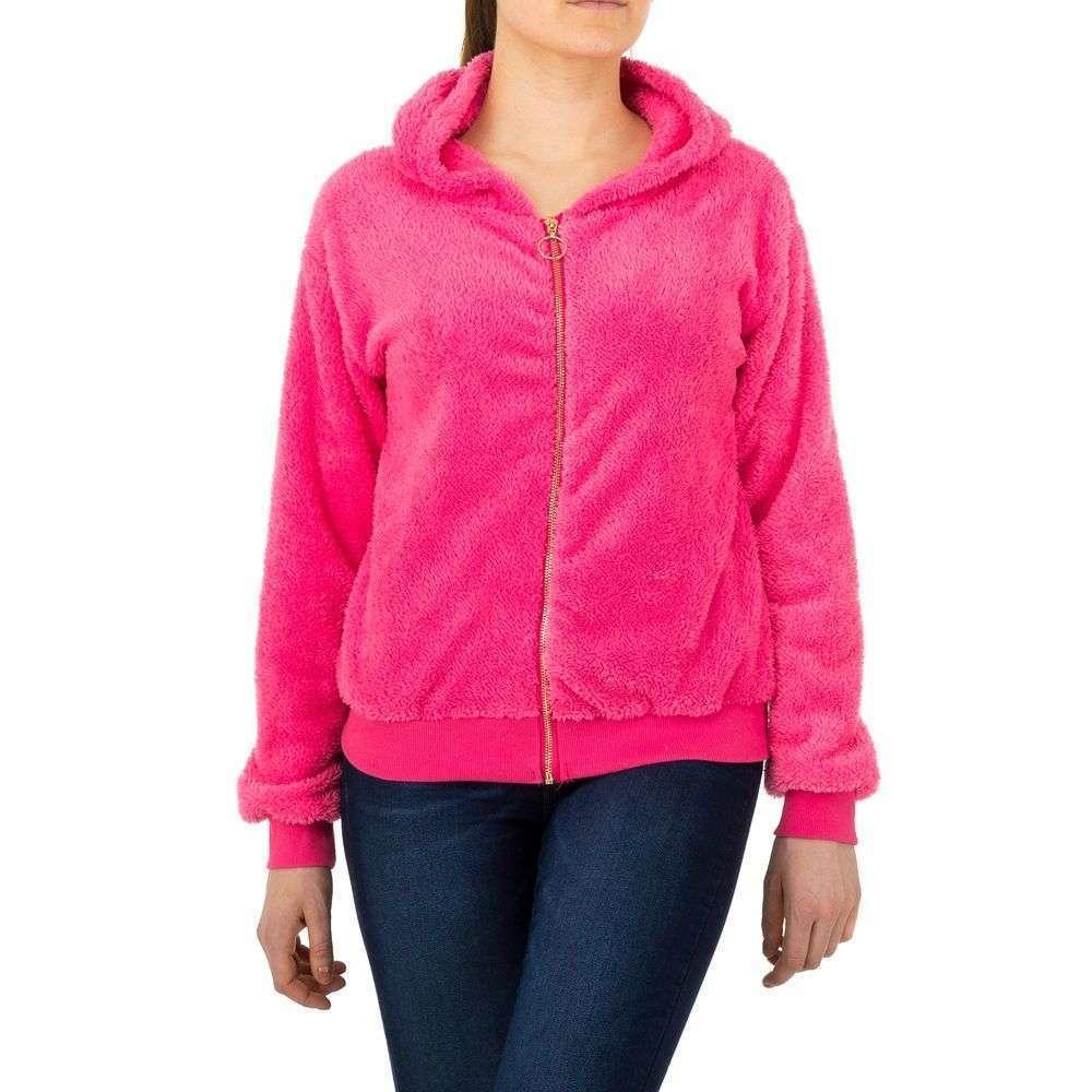 Женская спортивная куртка от Voyelles - розовый - KL-TS-863-розовый