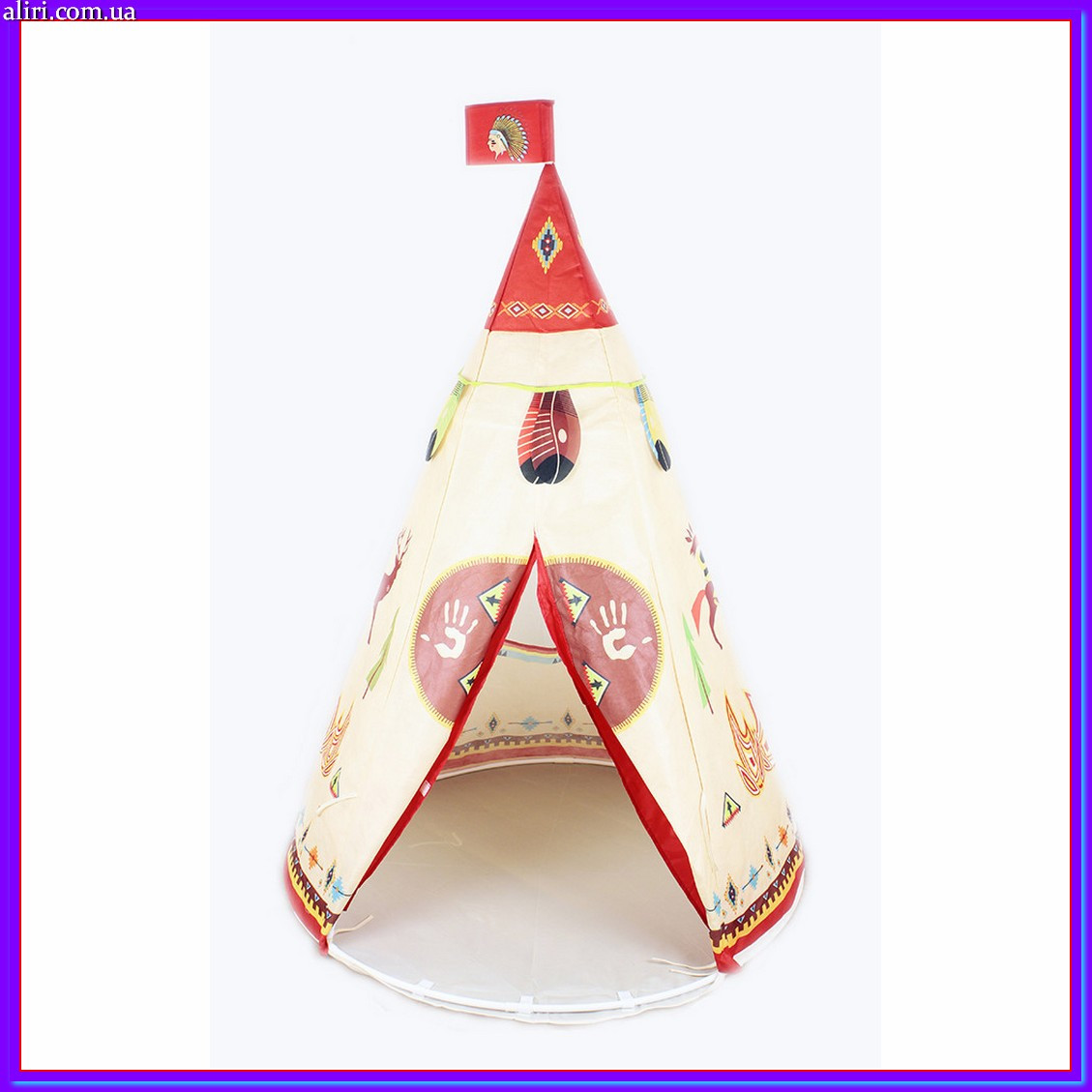 """Детская палатка """"Вигвам"""" YJ 889-179B 160 см"""