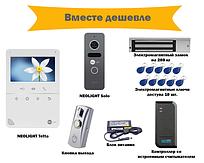 Комплект видеодомофона Neolight Tetta с вызывной панелью Neolight Solo с контролем доступа на двери