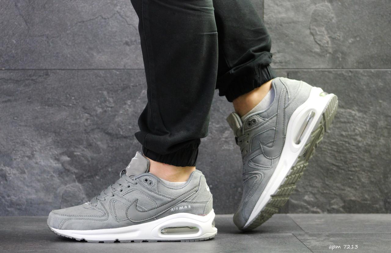 a96be9d330fd74 Чоловічі кросівки Nike Air Max, сірі з білим - BEST-CROSS в Хмельницком