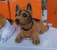 Собака собачки в автомобиль с кивающей головой ОВЧАРКА! На торпеду! КАЧЕСТВО!