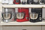 Кухонный комбайн тестомес Herenthal HT-PKM1400.5 1400 Вт Красный, фото 3