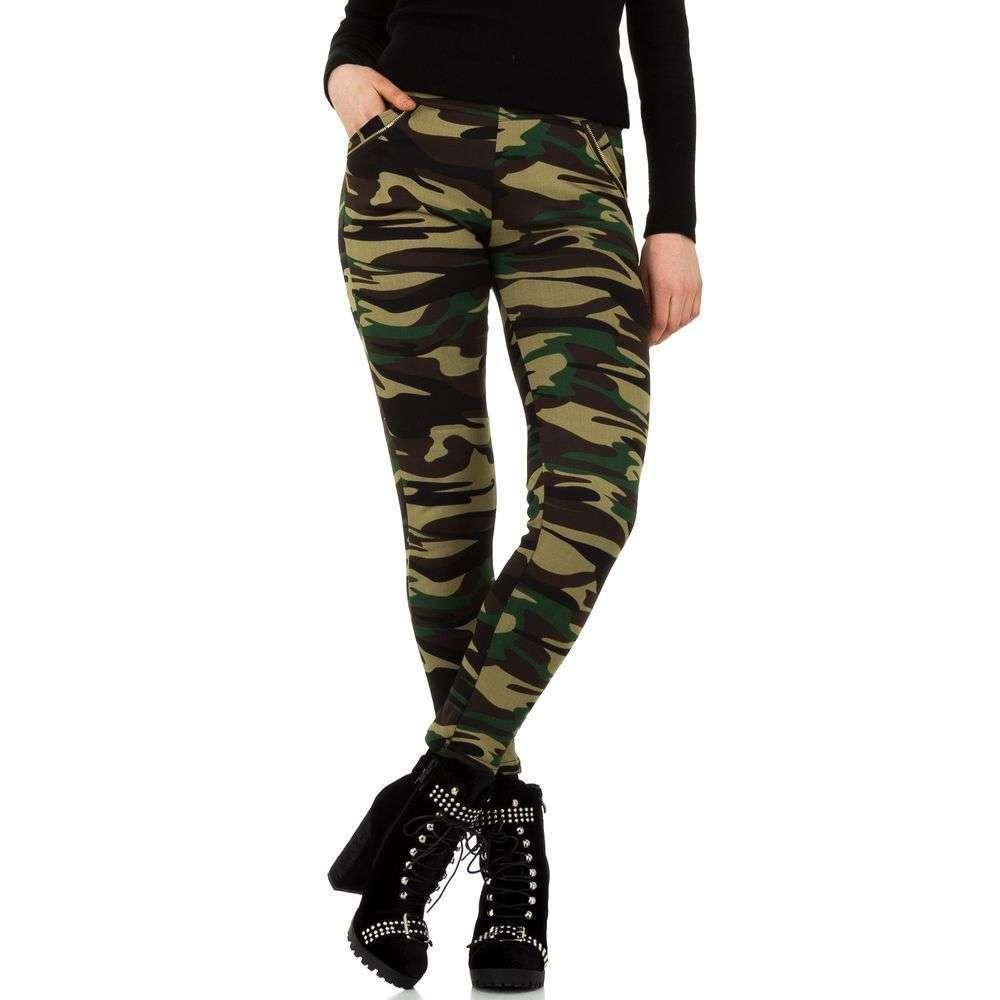 Женские брюки от Holala - камуфляж - SS-BFLG18244-камуфляж