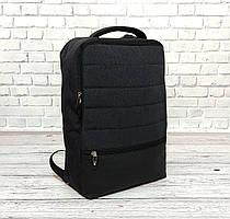 Рюкзак Shaolong Качественный с отделом для ноутбука + USB. Темно серый.
