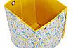 Ящик для зберігання іграшок, 30*30*45 см, (бавовна), Жирафи ( з кришкою ), фото 5