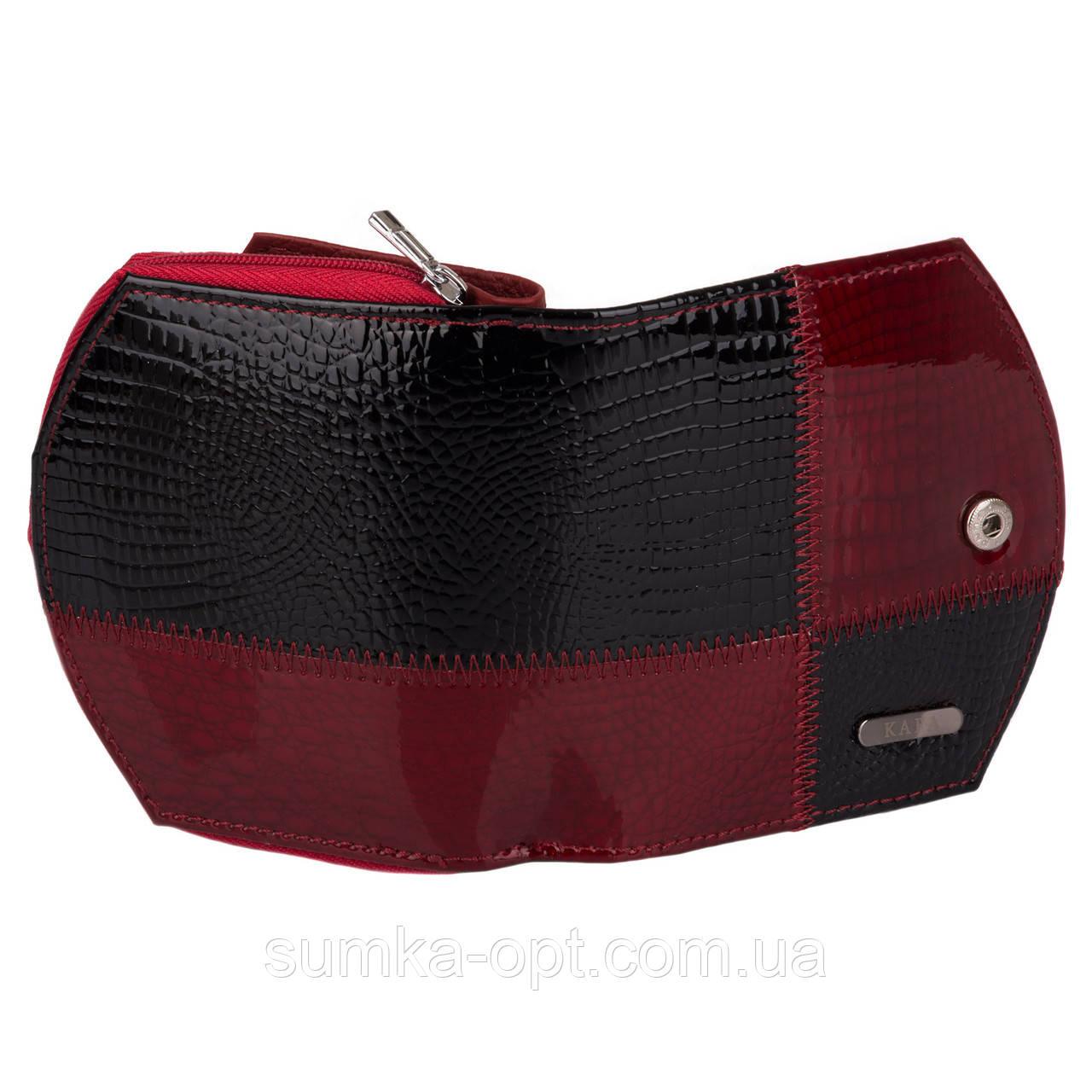 d01baa49591a ... Женские кошельки из натуральной кожи Kafa с RFID защитой (красный)13*8,