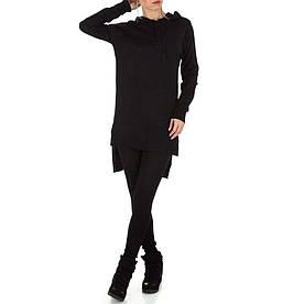 Женский костюм - черный - KL-180-black