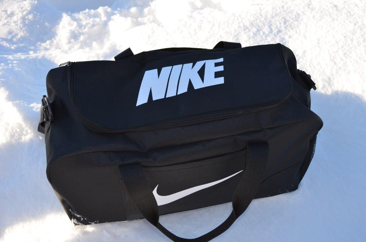 5c1b3e6e419b Черная (реплика), Сумка Nike, найк для тренировок, дорожная, спортивная.