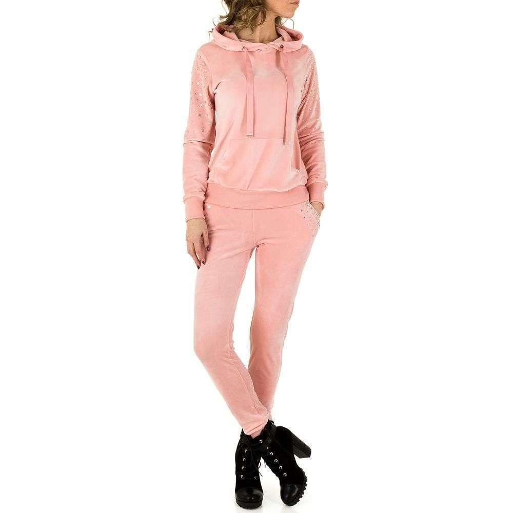 Женский костюм Emmash Paris - розовый - KL-WJ-8093-розовый