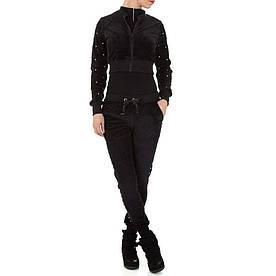 Женский костюм - черный - KL-WJ-8118-black