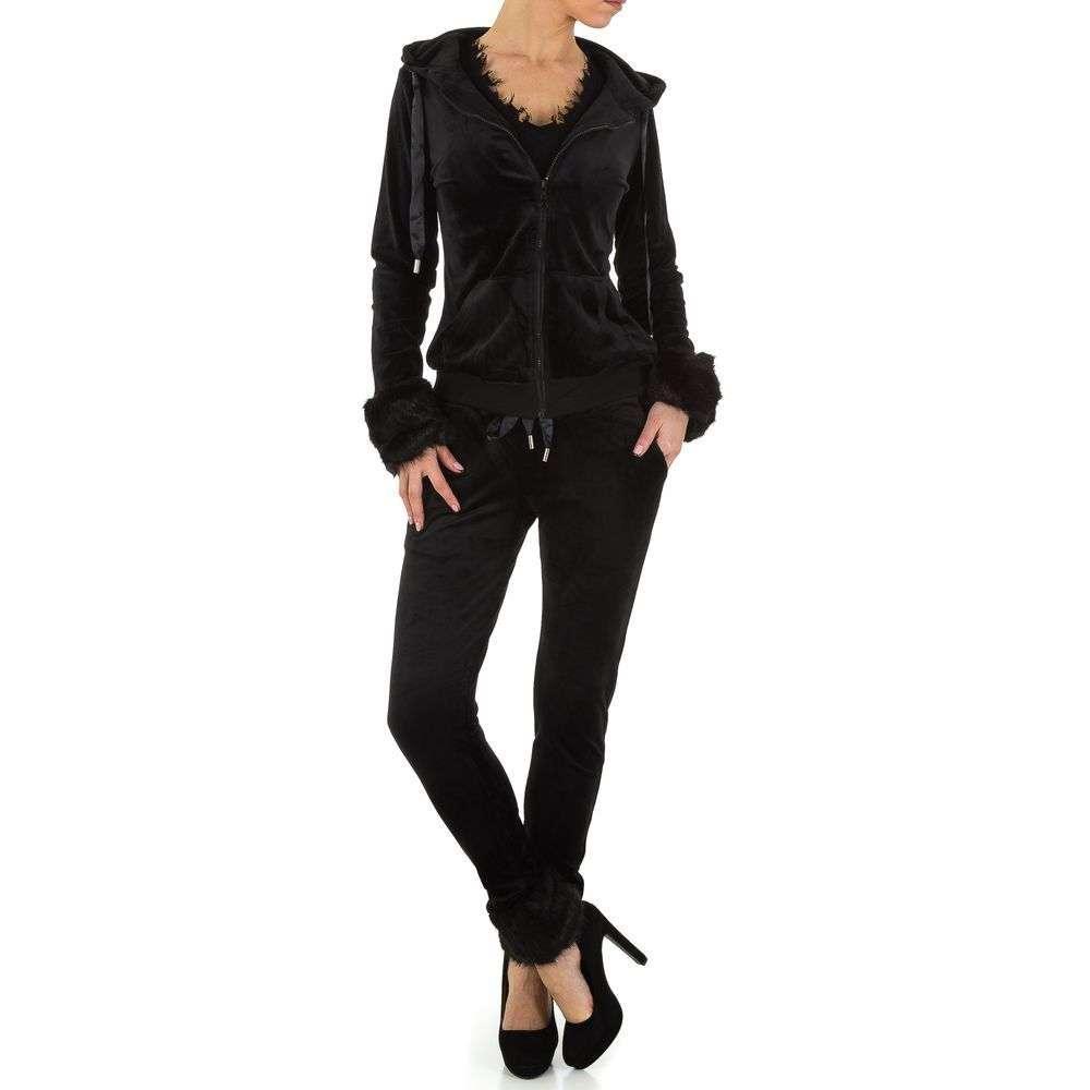 Женский костюм от Emma&Ashley - черный - KL-WJ-7972-black