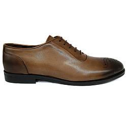 Мужские туфли оксфорды Rifellini рыжие