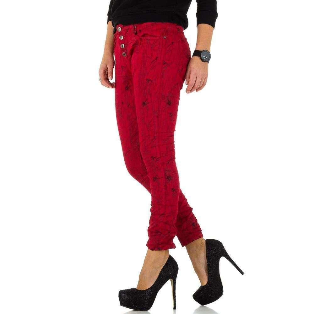 Женские джинсыот Place Du Jour KL-J-90089-F101-red