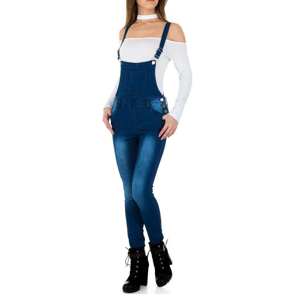 Женские джинсы от Milas - синий - KL-J-DJ1153-синий