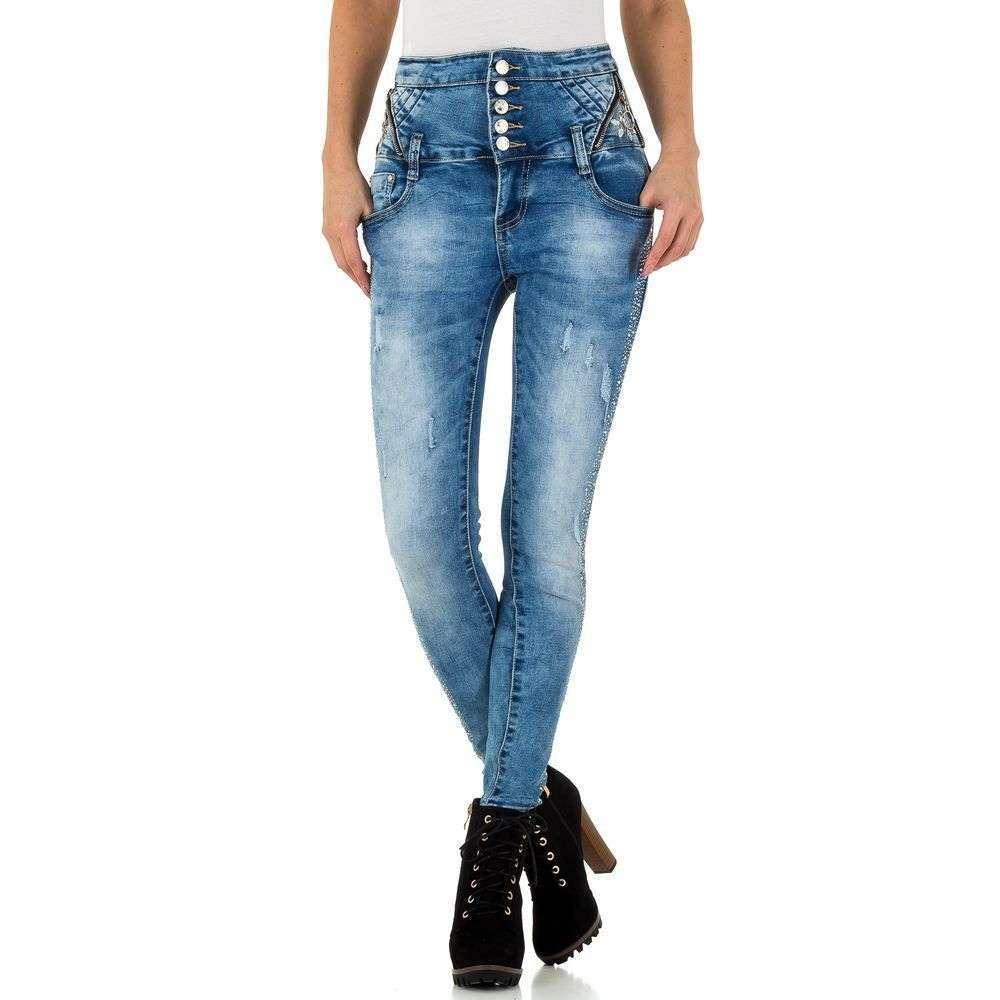 Женские джинсы Original Denim - blue - KL-J-A845-синий