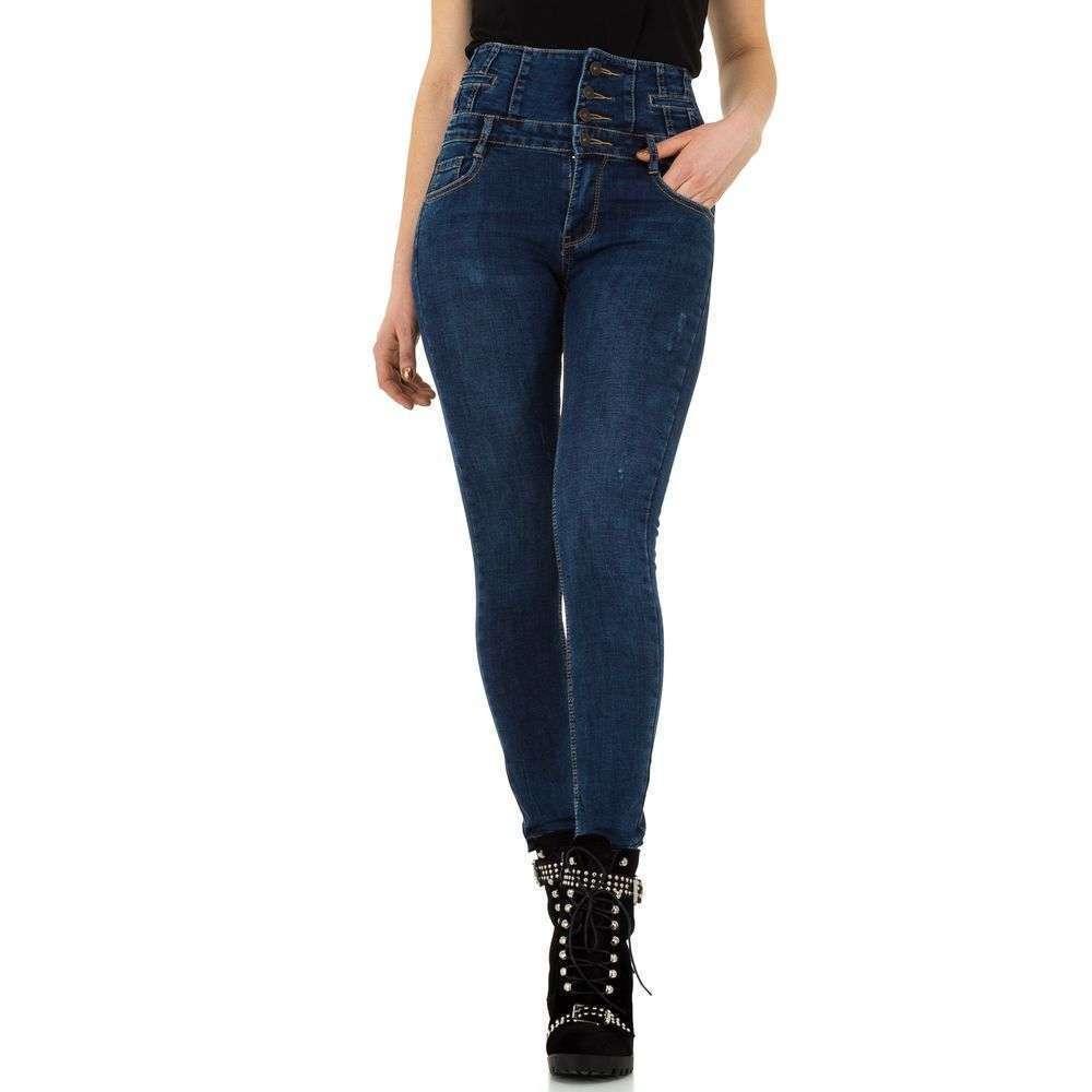 Женские джинсы от Laulia - синий - KL-J-3D415-синий