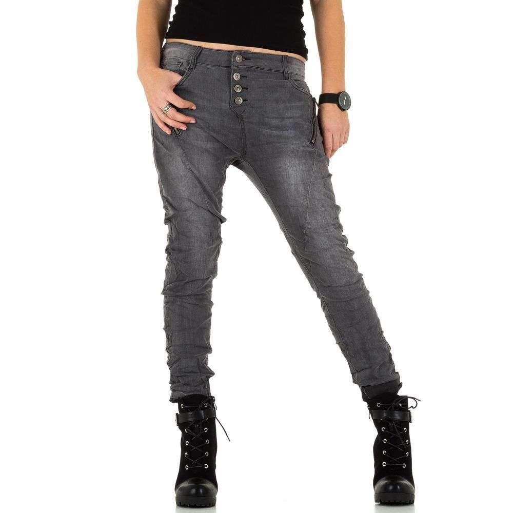 Женские джинсы от Laulia - серый - KL-J-1J011-серый