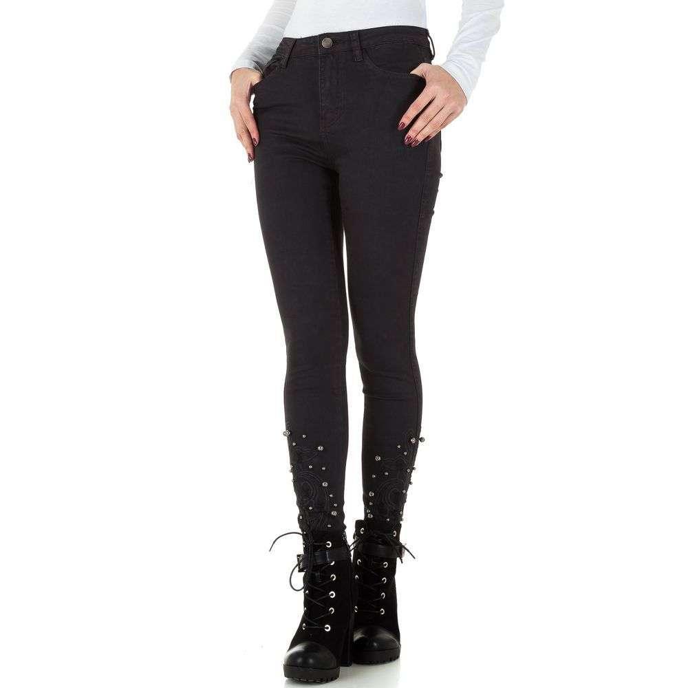 Женские джинсы от Milas - серый - KL-J-1032M-серый