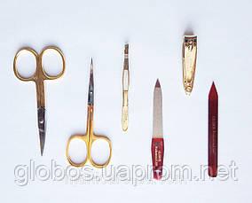 Набор инструментов для маникюра GLOBOS 701-9G Blue, фото 3