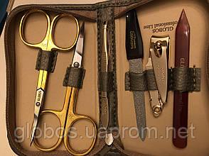 Набор инструментов для маникюра GLOBOS 701-9G Blue, фото 2