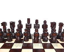 Шахматы Гладиатор C-117 большие с резными фигурами в подарок, фото 2