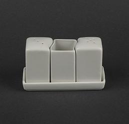 Набір для спецій (сіль/перець/зубочистки) HR1571