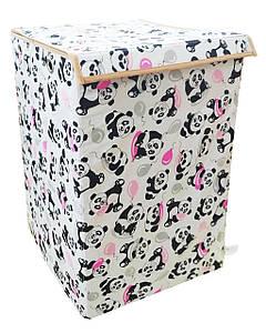 Детский ящик для игрушек Панды, 35*35 см