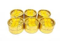 """Коробочка круглая подарочная """"Provance Gold"""" 6шт"""