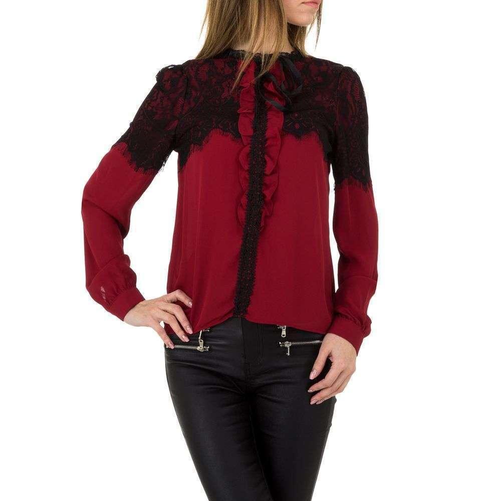 Женская блузка от Emmash Paris - winered - KL-MV-1037-winered