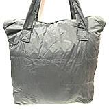 Стьобані сумки плащівка (чорний)38*42см, фото 2