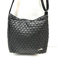 Стеганные сумки на плечо (черный)31*32см