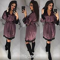 86a56974c3f77 Женские шелковые халаты короткие в Украине. Сравнить цены, купить ...