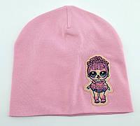 Оптом шапки с 46 по 50 размер трикотажная детская шапка головные уборы детские опт, фото 1
