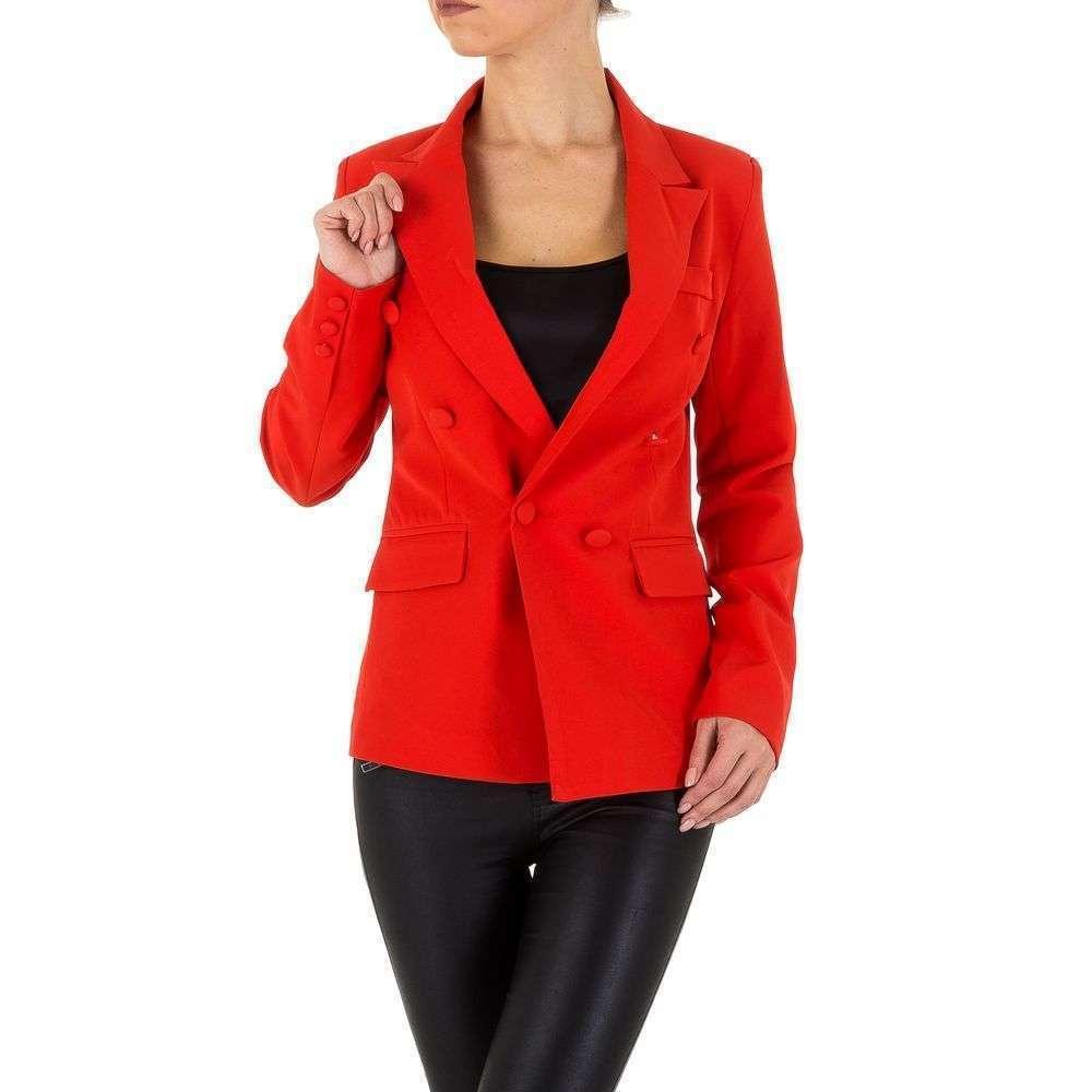 Женская куртка - красный - KL-WJ-7966-red